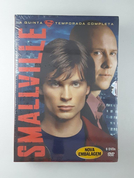 Box Dvd Smallville 5 Temporada Original Lacrado