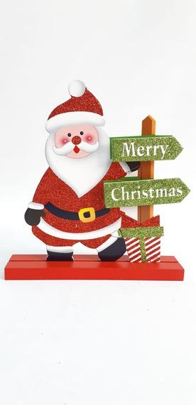 Cartel Papa Noel Merry Christmas #30715 - Sheshu Navidad