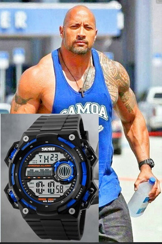 Relógio Skmei Digital 1115 Masculino Esportivo Azul