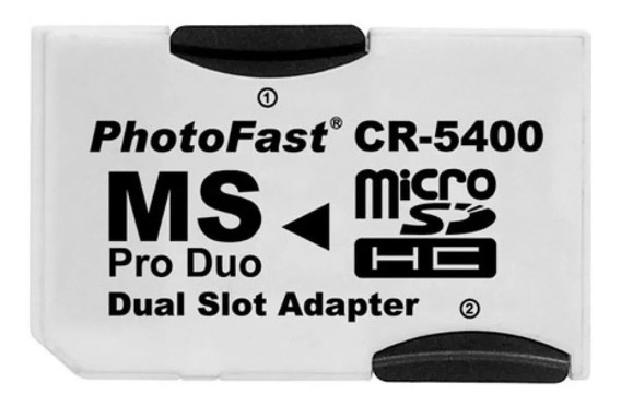 Adaptador Micro Sd A Pro Duo Psp Camara Photofast Hasta 32gb