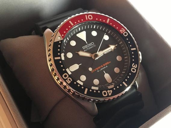 Relógio Seiko Skx009j Scuba Diver Pepsi Made In Japan