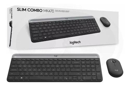 Combo Logitech Teclado Y Mouse Mk470 Inalambrico