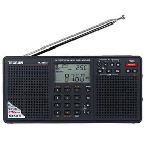 Rádio Receptor Tecsun Pl-398mp Fm Stéreo/am/sw Importado