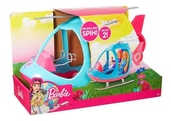 Barbie Explora Y Descubre Helicoptero De Barbie