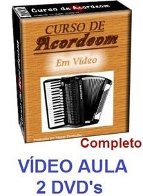 Acordeon! Aulas De Acordeon Em 2 Dvds! O Melhor Do Mercado