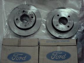 Disco Freio Escort Verona 93 96 Par Ventilado Ford Original