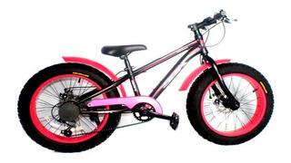 Bicicleta Fat Rodado 20