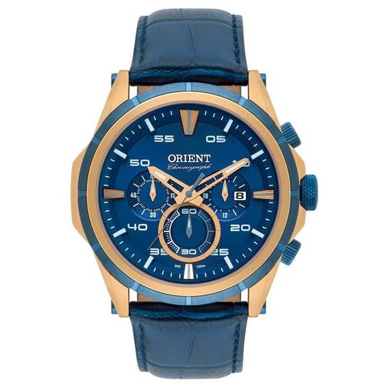 Relógio Orient Masculino Chronograph - Mrscc011 D2dx