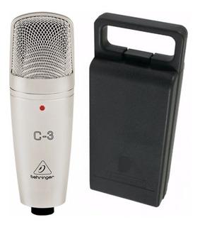 Microfono De Condensador Behringer C-3 Doble Diafragma