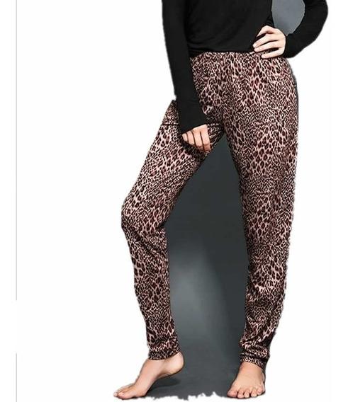 Pantalón Pijama Dama Invierno Algodon Dolcisima 828l