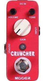 Pedal Mooer Cruncher Distortion Mcd
