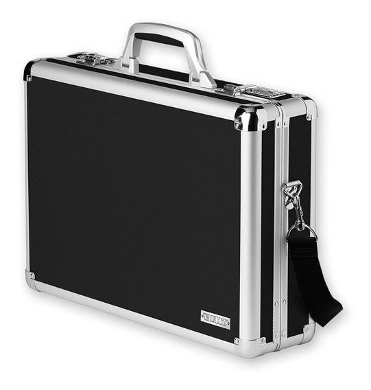 Portafolio Aluminio Grande Espacioso Elegante Envió Gratis!