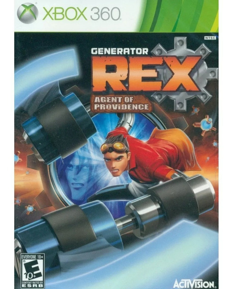 Jogo Generator Rex Agent Of Providence Xbox 360 Novo Lacrado