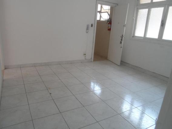 Apartamento Com 2 Dormitórios Para Alugar, 72 M² Por R$ 1.600,00/ano - Pompéia - Santos/sp - Ap6587