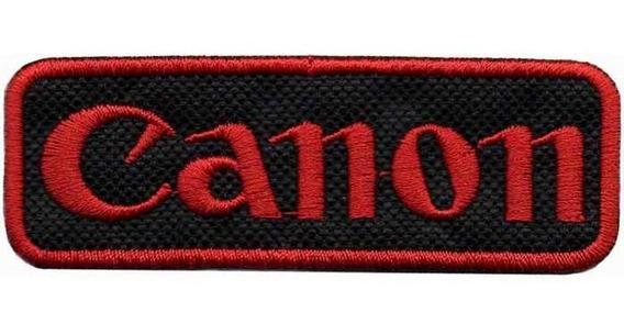 Patch Bordado Camera Logo Canon Maquina Fotografica Dv80700