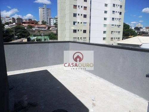 Cobertura Com 4 Quartos À Venda, 170 M² - Santa Tereza - Belo Horizonte/mg - Co0228