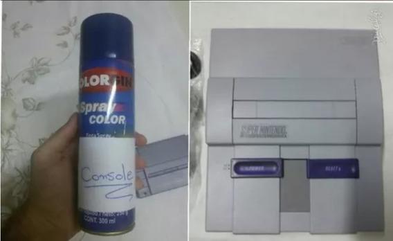 4 Spray 1 Cartuchos 3 Console