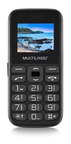 Celular Vita Com Base Tela 1.8 Dual Chip 2g Usb Multilaser