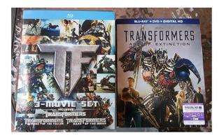 Lote Transformers Bluray Y Libros