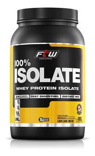 Whey Protein 100% Isolado Fitoway Ftw Sabor Baunilha - 900g