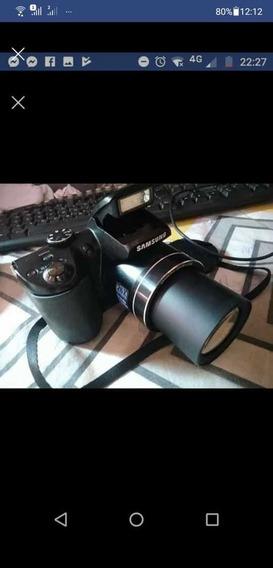 Câmera Samsung Wb 100 Seme Profissional A Pilha