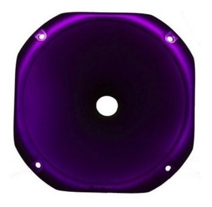 Corneta Tiro Longo Redonda Fiamon 1425 Violeta Fosco Roxo