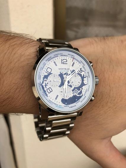 Relógio Montblanc Hemispheres Automático Novo