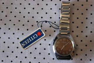 Reloj Citizen Mujer Vintage Acero Inoxidable Nuevo