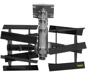 Enxada Rotativa Para Motor Roçadeira Acima De 42cc Er3