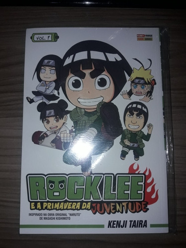 Rock Lee E A Primavera Da Juventude Vol.1