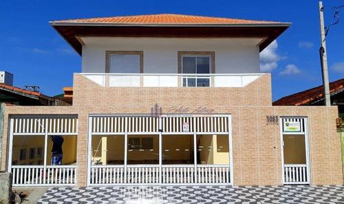 Imagem 1 de 23 de Casa Com 2 Dormitórios À Venda, 55 M² Por R$ 215.000,00 - Ocian - Praia Grande/sp - Ca0134
