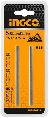 Imagen 1 de 4 de Cuchilla Para Cepillo 82 X 5.5 X 1.2mm Epb820121 Ingco - Tyt