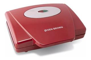 Waflera Electrica Antiadherente Ken Brown Sw-200b 750w