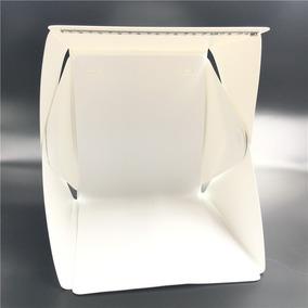 Mini Estúdio Fotográfico Portátil 20 Leds Fotobox Barato