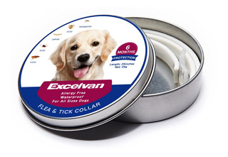 Collar Impermeable Anti- Pulgas Para Perros Ajustable