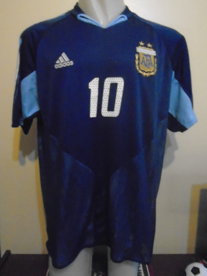 Camiseta Argentina Juegos Olímpicos 2004 Tévez #10 Boca Xl