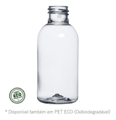 200 Frascos Pet Transparente Cilíndrico 60ml 7g Bocal 20-410