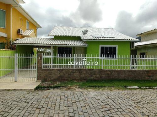 Casa Residencial À Venda, Centro, Maricá. - Ca2203