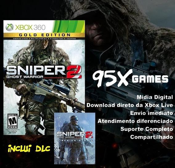 Midia Digital Xbox 360 - Sniper 2 Ghost Warrior Gold Edition