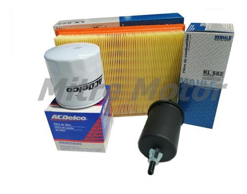 Kit Filtros Chevrolet Corsa 1.6 8v Aceite -aire - Nafta
