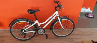 Bicicleta Peugeot Dama Cj12 Rod 24 18 Speed