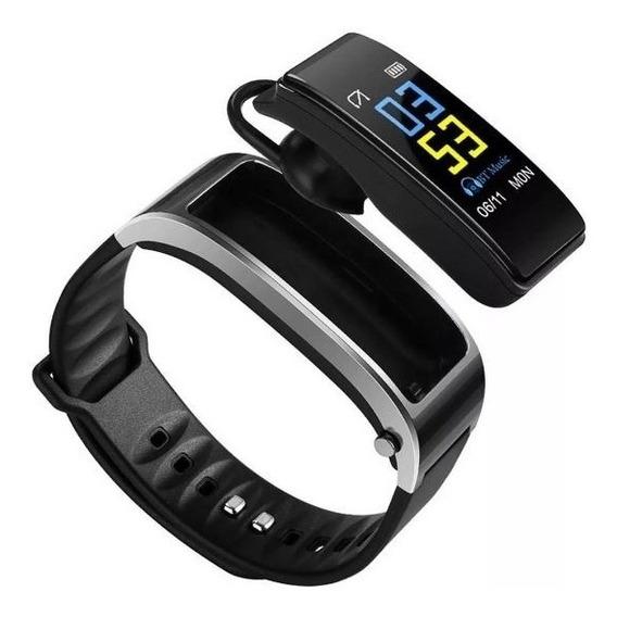 Pulseira Inteligente Smarband E Fone De Ouvido Bluetooth Y3