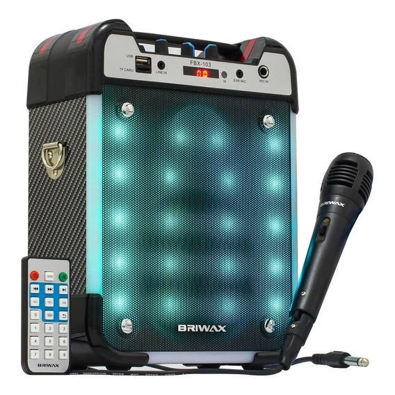 Caixa Som Cubo Bluetooth 25w Amplificador Guitarra Violão Sd