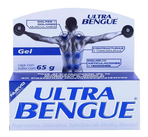 Gel Cutáneo Auxiliar Dolor Ultra Bengue Azul 65g Genomma Lab