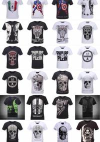 10 Camisetas Gucci - Philipp Plein - Louis Vuitton - Versace