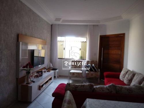 Sobrado Com 6 Dormitórios À Venda, 275 M² Por R$ 850.000,00 - Campestre - Santo André/sp - So2551