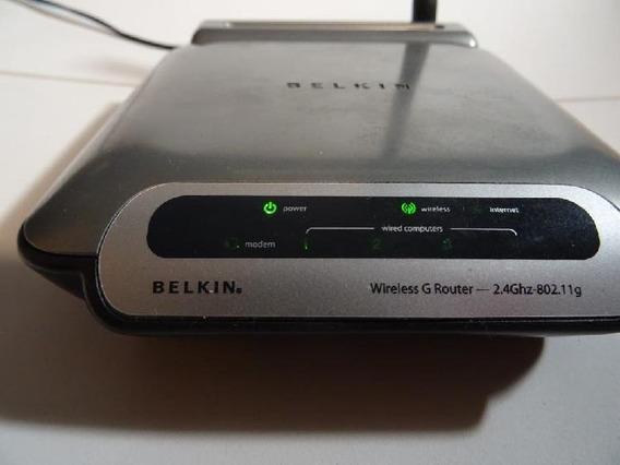 Router Belkin Wireless G Wifi
