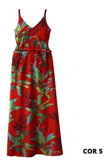 Roupas Femininas Vestido Longo Moda Evangélica 2707
