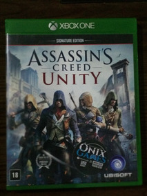 Capa Case Do Jogo Assassins Creed Unity