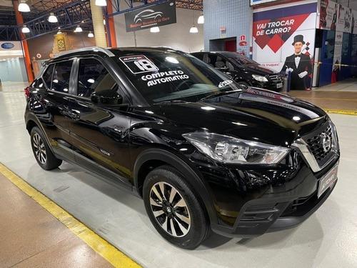Imagem 1 de 14 de Nissan Kicks S Cvt Preta 2018